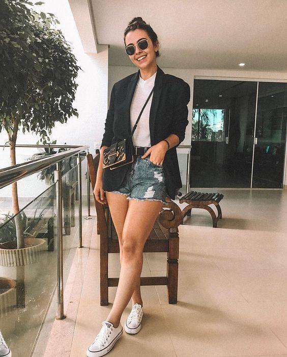 6 looks incríveis com Blazer em 2019   Blazer outfits casual