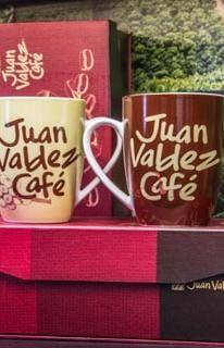 Mug set of 2 Beige and brown | Juan Valdez® Café