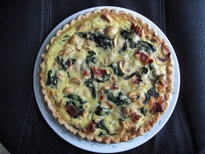Bacon and mushroom quiche recipes easy