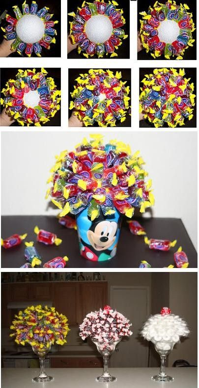 Candy Bouquets: