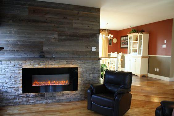S jour r aliser par une de nos designer d coration mur de pierre avec foyer - Decoration mur jardin ...