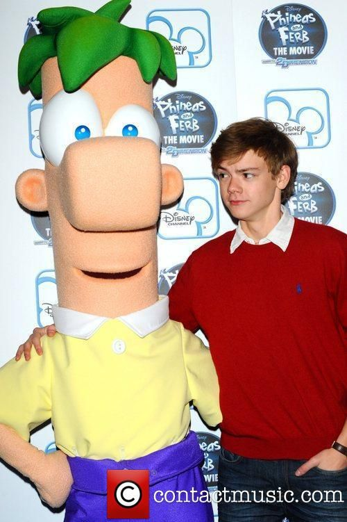 Thomas Sangster. Voice of Ferb. MY STRANGE CRUSH ON FERB INTENSIFIES..