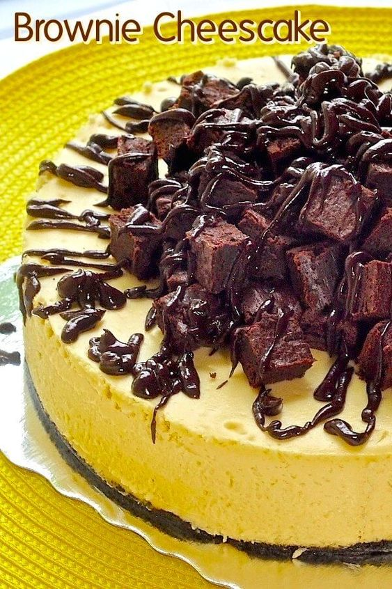 luscious vanilla cheesecake sits atop a chocolate cookie crumb crust ...