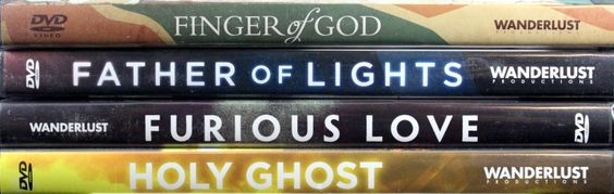 SET OF 4 DVDs - Finger of God, Furious Love, Father of Light and Holy Ghost