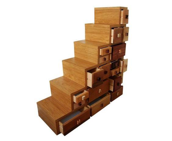 Mobile a scala gioia mobile a scala con cassetti di - Di gioia mobili ...