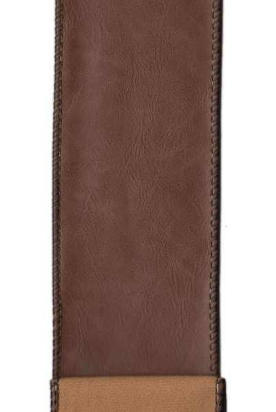 Faux Leather Dark Brown
