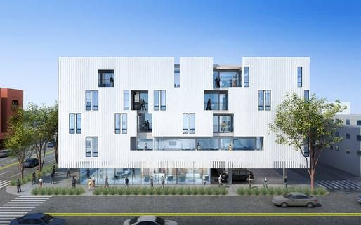 Brooks Scarpa S Mixed Use Complex Featuring Low Income Housing To Break Ground Modern Architecture Building Architecture Mix Use Building