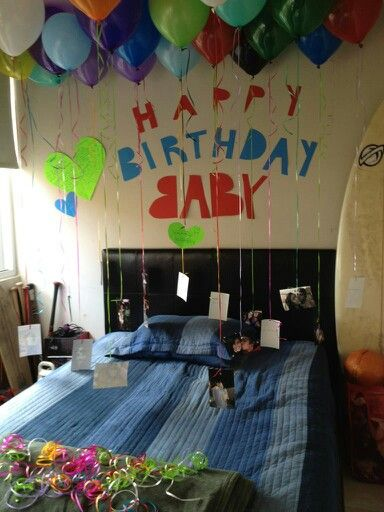 PERFECT SURPRISE FOR BOYFRIEND  happy birthday  Pinterest  My boys ...