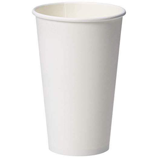 Amazonbasics Compostable Pla Laminated Hot Paper Cup 16 Oz 250 Count Review Paper Cup Laminate Compost