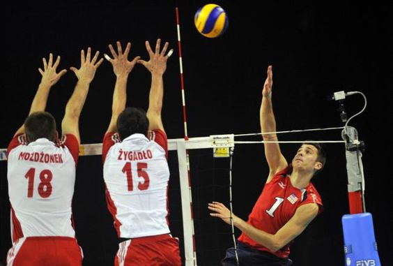 Matt Anderson<3: Volleyball Matt Anderson, Volleyball 3, Polish Volleyball, Usa Volleyball, Volleyball Block, Favorite Sports, Manning Sports, Volleyball Pin