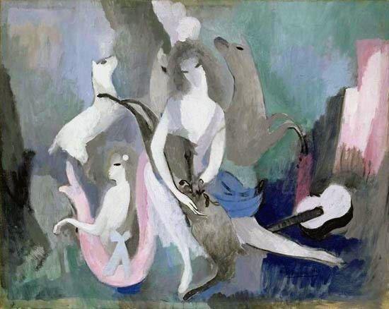"Marie laurencin (1883-1966) "" Les biches, "" 1923"