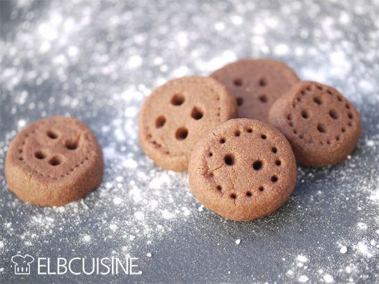 Knopfkekse – schokoladig, lustig und sehr einfach!