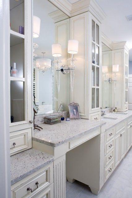 #bathroom: Dream Bathrooms, Modern Bathroom, White Bathroom, Bathroom Ideas, Bathroom Bathrooms, Contemporary Bathroom, Master Bathroom, Design Bathroom