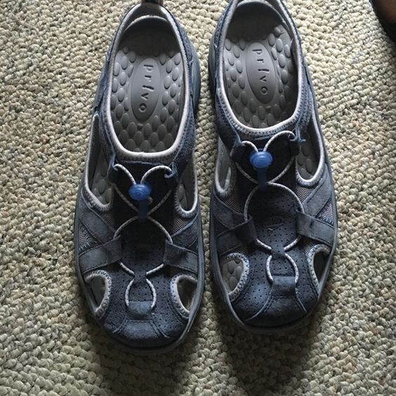 Walking shoes Privo by Clarke, worn once, looks brand new, no flaws, very comfortable, price is negotiable, selling for a friend Clarks Shoes