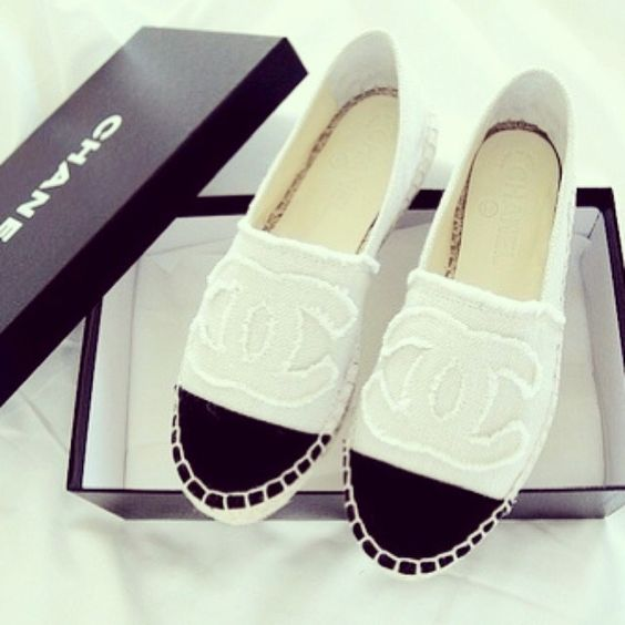Moda, Alpargatas Chic, Alpargatas Cali, Chanel Zapatillas, Se Victoriatornegren, Modelos Zapatos, Accesorios Originales, Limón, Ancho