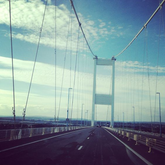 Bridge into Wales