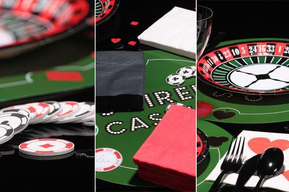 Décorations d'ambiance Soirée Casino - e-options.net