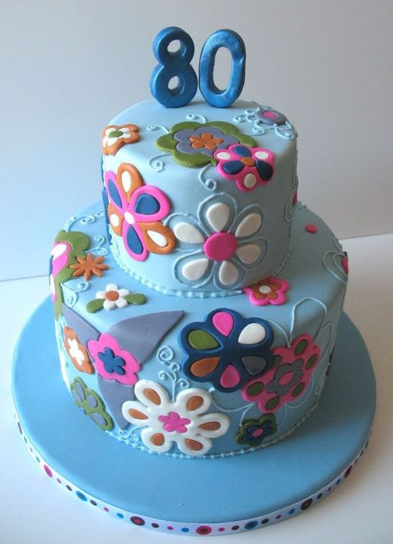 Cake Ideas For Adults  Birthday and Party Cakes: Floral Birthday Cake ...