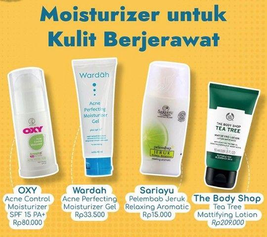 Cream Sariayu Jerawat