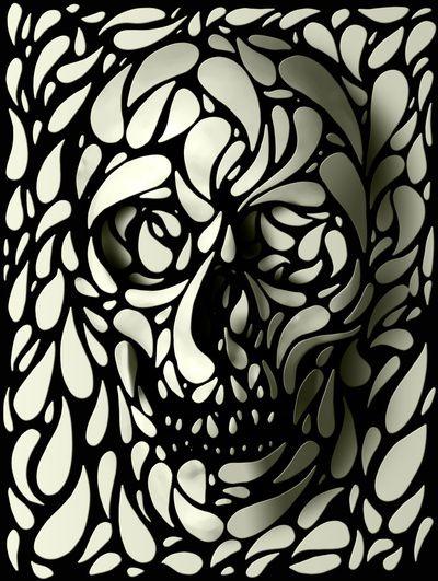 Man, I love skulls. So very well done.