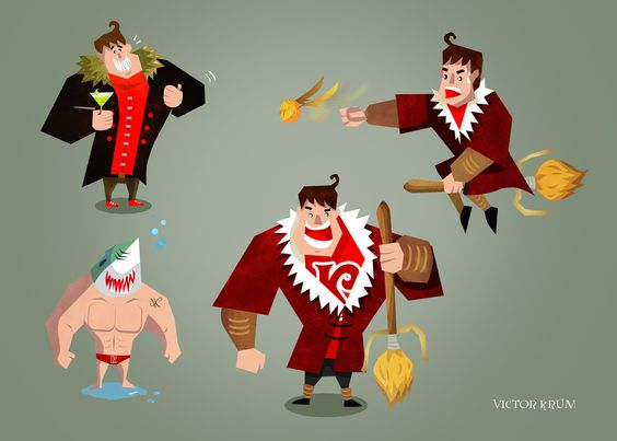 Victor Krum by Chapet.deviantart.com on @DeviantArt