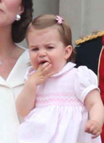 Teething Princess Charlotte