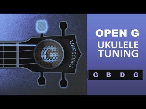 Open G Ukulele Tuning G B D G Online Ukulele Tuner Youtube Ukulele Tuner Ukulele Tuning Ukulele