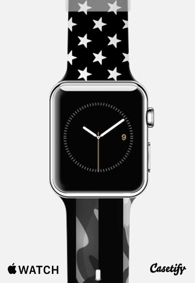 American Camouflage Apple watch bands, Watch bands and