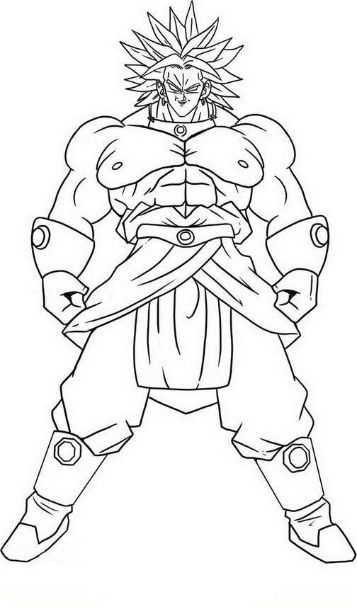 Dragon Ball Z 78 Ausmalbilder Für Kinder Malvorlagen Zum