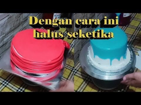 Ingin Hasil Halus Seketika Coba Cara Ini Butter Cream Steam Dan Buttercream Oles Youtube Golden Wedding Cake Butter Cream Cream Cake