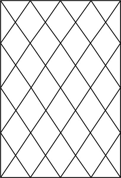 diamond tudor window pattern decorative window film
