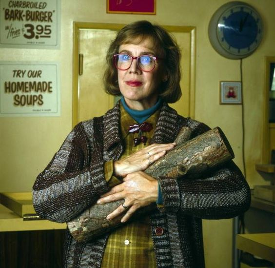Patricia Coulson as the Log Lady. Sad news about her passing.