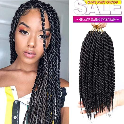 Amazon Com Ago 6 Packs 12 Inch Havana Mambo Twist Crochet Hair