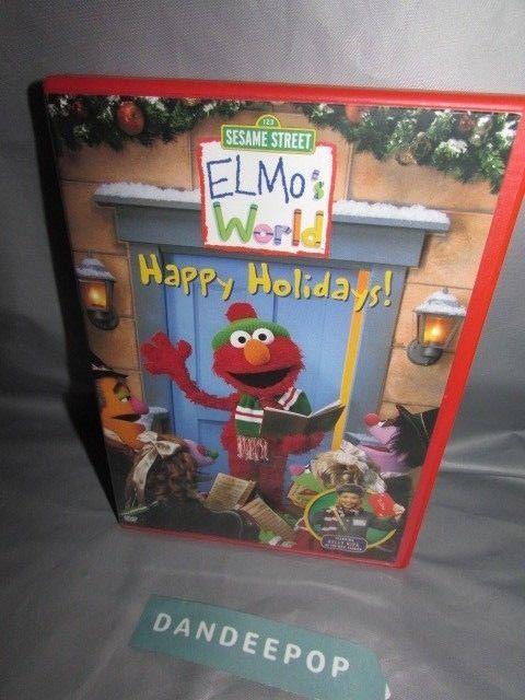 Elmos World Happy Holidays Dvd 2002 Movie Sesamestreet