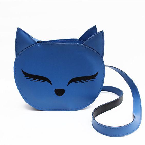 Bolsa Gatinho Azul