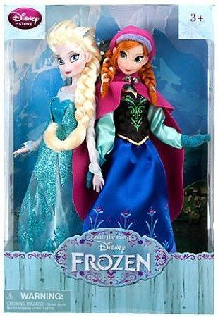 Frozen Anna And Elsa Dolls Plush