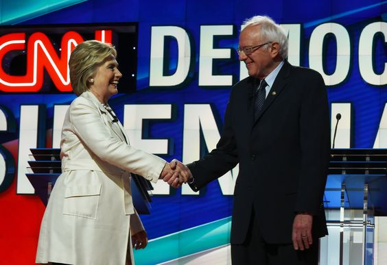 New Jersey voters have until 8 p.m. Tuesday to hit the polls: New York's PIX11 / WPIX-TV http://ow.ly/OoX93010bO7 ►US Democratic presidential candidates Hillary Clinton (L) & Bernie Sanders shake hands before the CNN Democratic Presidential Debate at the Brooklyn Navy Yard on April 14, 2016, in New York. Hillary Clinton & Bernie Sanders take their increasingly acrimonious battle for the Democratic White House nomination to a debate stage in Brooklyn on Thursday ahead of the key New York…