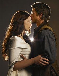 Richard and Kahlan from Legend of the Seeker