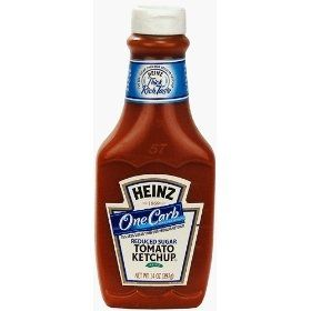 Diabetic, watching your sugar or carbohydrate intake? Then Heinz Reduced Sugar Ketchup is for you! Enjoy this thick, rich tasting ketchup with 1 gram of carbs and 75% less sugar per serving. Low carb, gluten free.