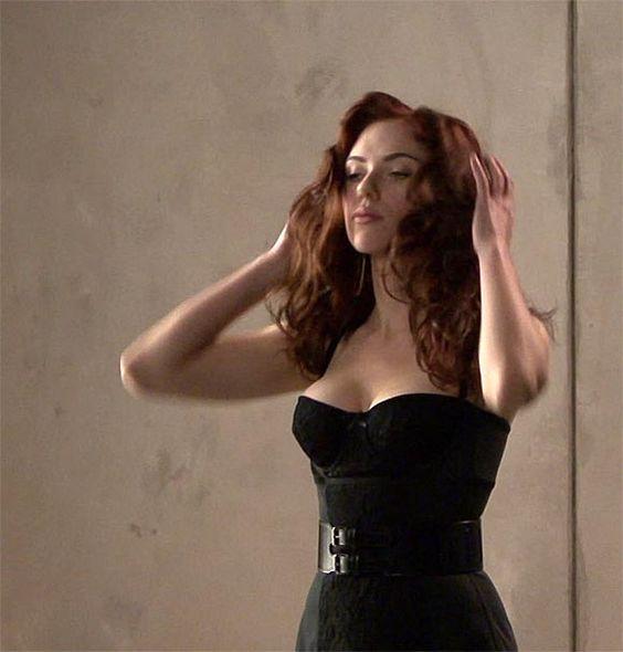 Scarlett Johansson filles Aux Gros Seins Photos Porno