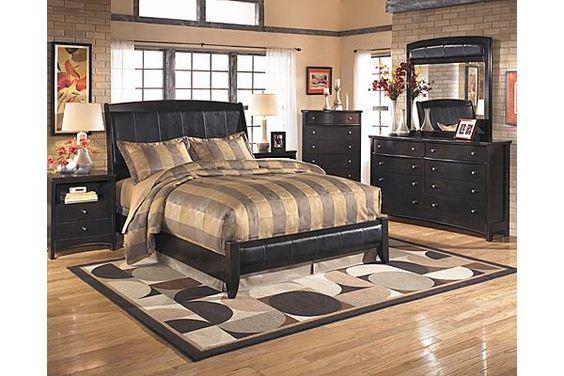 The Harmony Platform Bedroom Set From Ashley Furniture Homestore The Harmony