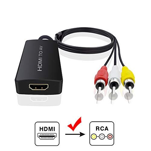 Hdmi To Audio Video Converter Hdmi To Rca Converter For Amazon