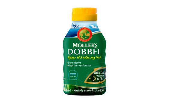 Viên Nang Dầu Cá Moller's Dobbel