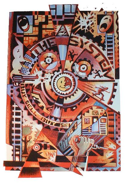 peter kuper art - Google Search