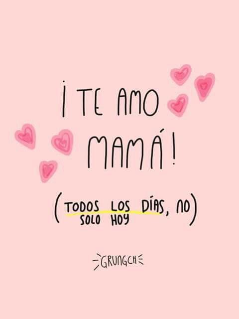 Poema Para Decir Te Quiero Sin Decirlo Feliz Dia Mami La Quiero Mucho Pensamientos Para Mama Feliz