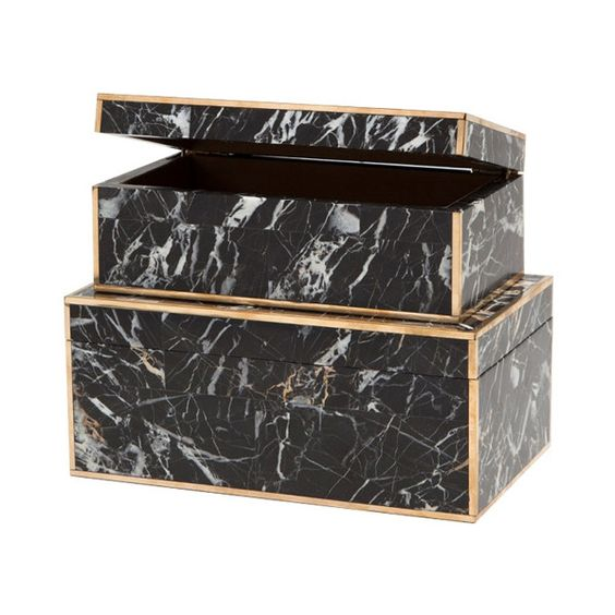 Marble Boxes: