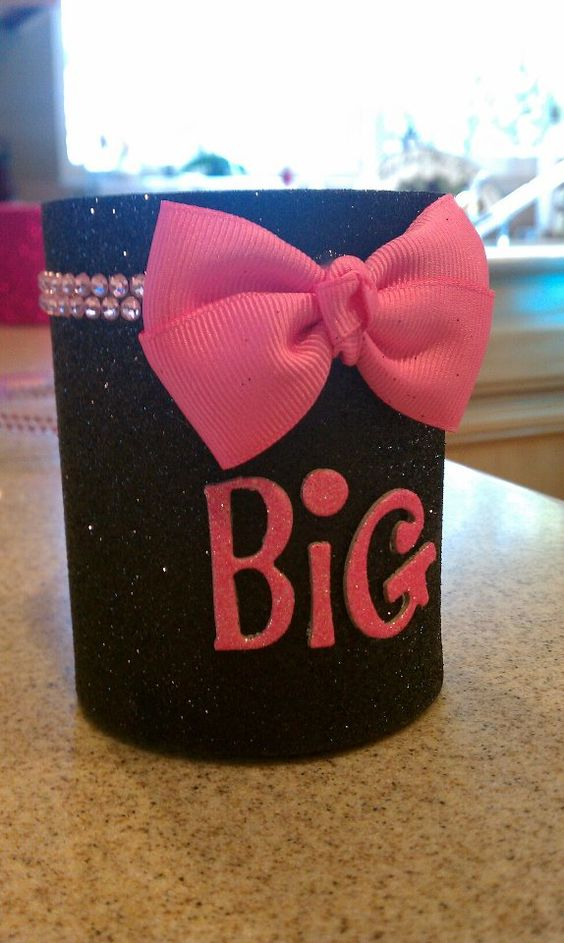 Big and little drink coozies <3  Perfect for a summer by the pool (: