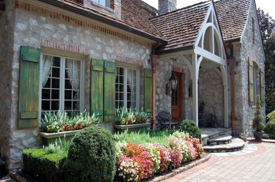 French Country Exterior Window Shutters Google Search