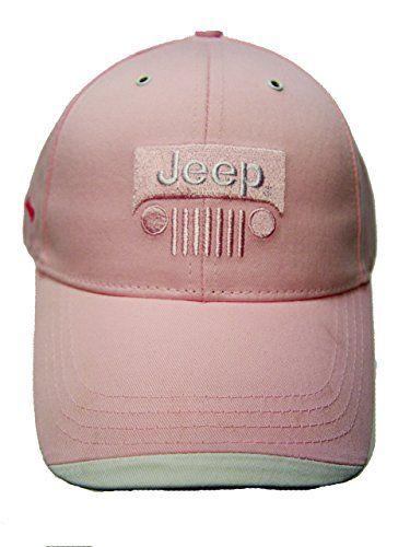 Ladies Pink Love My Jeep Hat