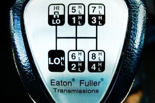 Learn How To Drive A Road Ranger At Ian Watson S Eaton Fuller Fuel Truck Transmission